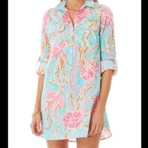 Lilly Pulitzer Captiva Tunic in Jellies be Jammin'